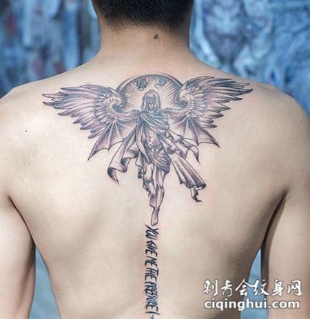男生背部纹身图案大全