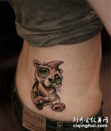 纹身图案小熊精选图片图片