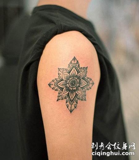 男生手臂纹身图形图片图片