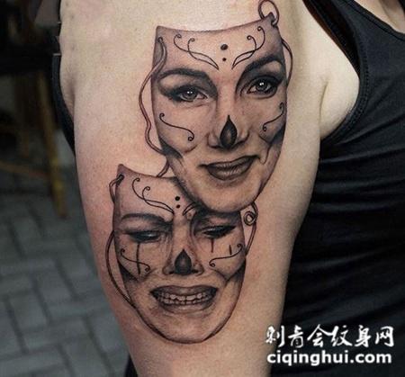 首页 纹身图案 鬼怪 黑白无常图片
