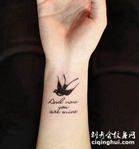 女孩子手胳膊纹身图片大全