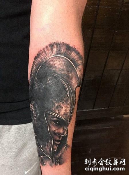 右臂纹身图案个性图片素材