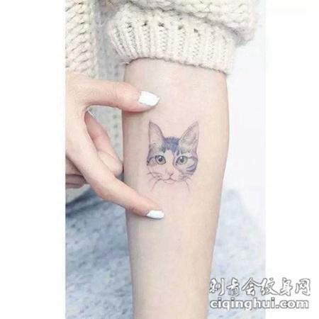 个性简单纹身图片女生大全