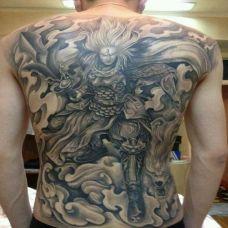 二郎神纹身个性图片合辑
