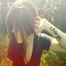 欧美女生手臂英文纹身图案大全
