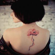 个性的后背纹身图案大全