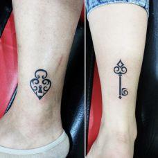 个性的情侣纹身图案大全