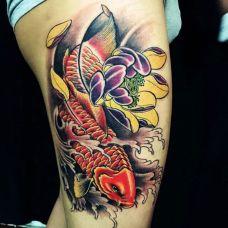 鱼的纹身图片个性合辑