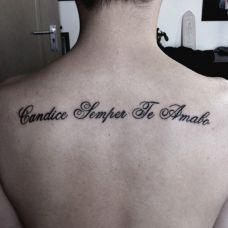 英语纹身图案个性图片