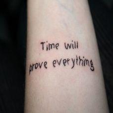 女生手腕好看的英文纹身图案