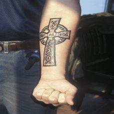 纹身手部图案大全男生
