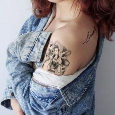 个性的女性纹身图案大全