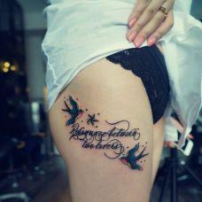 女字母纹身图案精选大全