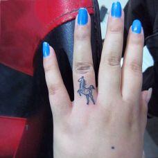 纹身小马图案精选大全
