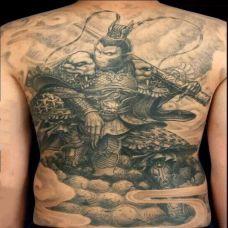 金箍一棒,满背斗战胜佛个性纹身