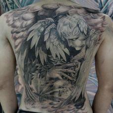男人纹身图片霸气图集