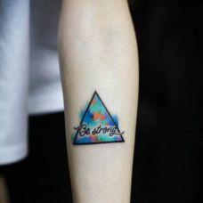 男生手臂纹身图形图片