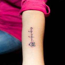 海绵宝宝纹身图案合辑