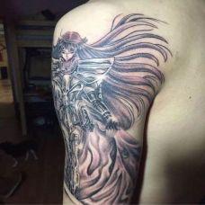圣斗士图案纹身图案素材