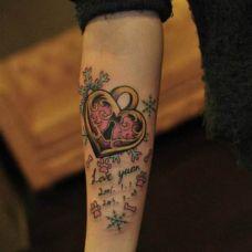 纹身唯美图案男女图片