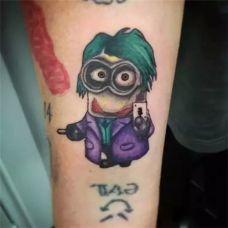 动漫人物纹身图片女生大全