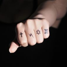简单纹身小图案手指合集