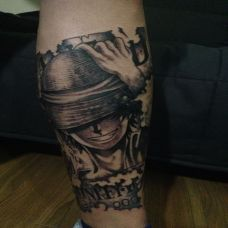 个性的海贼王纹身图片大全