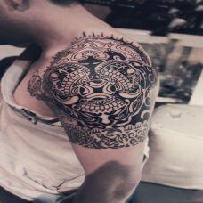 玛雅图腾纹身素材大全