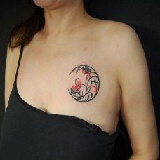 月亮图腾纹身图案大全推荐