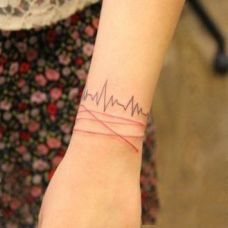 手腕纹身图案女生图片合辑