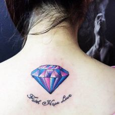钻石图腾纹身图案大全合辑