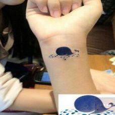 手宛女士纹身图案素材