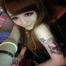 女生非主流纹身图片欣赏