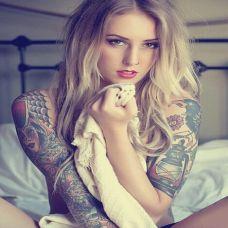欧美女纹身图片精选特辑