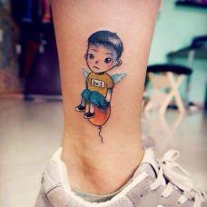 经典人物纹身图案图片