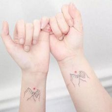 情侣纹身图片小清新合辑