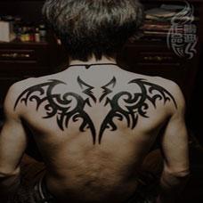 蝙蝠图腾纹身图片素材
