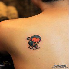 背上猴子纹身图案大全推荐