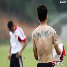 王大雷纹身精选图片