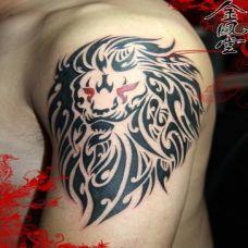 胳膊独特纹身图案高清图片