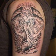 天使纹身图片大全推荐