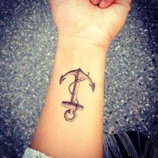 男纹身图片手臂小清新写真