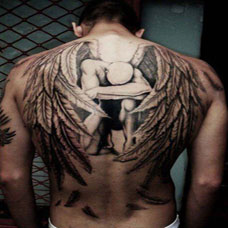 堕落天使纹身图片欣赏