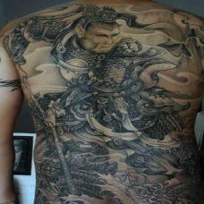 霸气悟空纹身图案欣赏