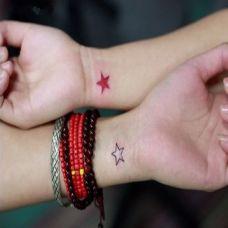 情侣手臂图腾纹身图案大全