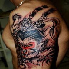 最霸气的手臂斗战胜佛纹身图片欣赏