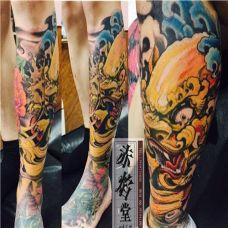 精美的貔貅纹身艺术作品多角度展示图片
