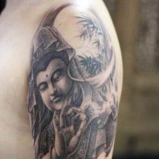 男士纹身经典图案个性图片