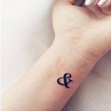 手臂简单纹身图片图案大全