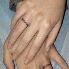 女生手指简单纹身图案大全